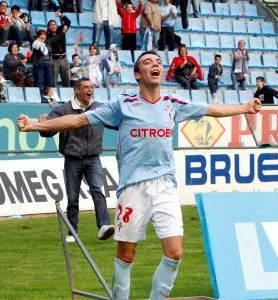 Iago Aspas (Moaña) formouse na canteira do Celta